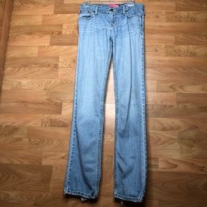 Hollister Stretch size 5 Serious Distressed Jeans